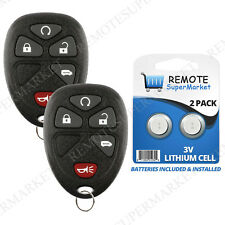 2 Replacement for 05-07 Terraza Relay 05-09 Uplander Montana Remote Start Fob