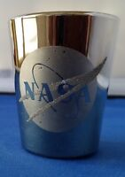 NASA Shot Glass - Excellent Condition. With NASA logo on Front.
