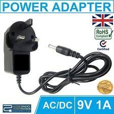 TO FIT XROCKER X-ROCKER GAMING CHAIR POWER ADAPTER PLUG UK MAINS 3PIN 9V 1A AC