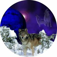 4x4 Spare Wheel Cover 4 x 4 Camper Camper Graphic Vinyl Sticker Wolves 96