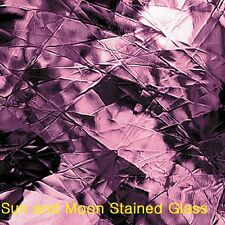 """8 X10"""" Spectrum Glass Sheet S 142A - Light Purple Artique Stained Glass Sheet"""