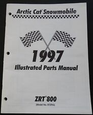 1997 ARCTIC CAT SNOWMOBILE ZRT 800 PARTS MANUAL P/N 2255-583 (680)