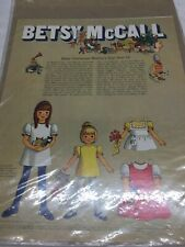 1970 VINTAGE BETSY MCCALLCELEBRATES MOTHERS DAY SORT OF PAPER DOLLS UNCUT UNUSED