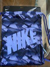 NIKE Unisex Graphic Gym Sack Backpack Twilight Pulse BA5262-477 FREE SHIPPING