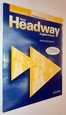 John & Liz Soars NEW HEADWAY PRE-INTERMEDIATE WORKBOOK WITH KEY 2009 Oxford