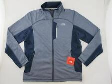 The North Face NEW Athletic Cinder 100 Weight Fleece Blue Men L Softshell Jacket