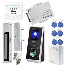 Sistema de Control de Asistencia MultiBio 800 Cerradura Magnética Eléctrica