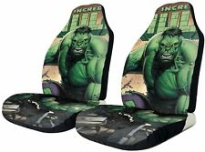 Hulk Car Seat Covers Set of Two Truck Auto Seat Cushion Protector Universal Gift
