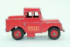 Dinky Toys No 255 Mersey Tunnel Police Land Rover - Meccano - Made In England