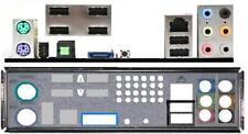 ATX Blende I/O shield MSI P45 Platinum P45D3 #108 io NEU OVP bracket backplate