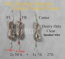 3c speaker cable/wire 4.2mm 27ft made for select sony/samsung/Panasonic receiver
