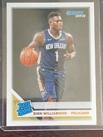 Zion Williamson RATED ROOKIE Rookie Card 2019-20 Donruss RC