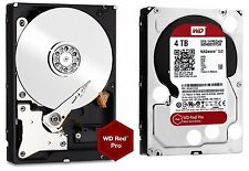 WD Red Pro 4TB NAS Desktop Hard Drive Intellipower 6 GBs 64 MB Cache WD4001