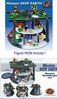 Kinder RAR Diorama Allemand Set Mole Mission Taupe Tana De Construire Tana RAR