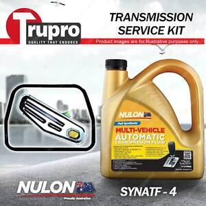 SYNATF Transmission Oil + Filter Service Kit for Renault 18 GTS 20 R25 Virage