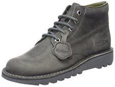 Bottes et bottines gris Kickers pour femme