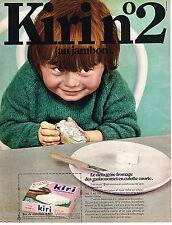 PUBLICITE ADVERTISING  1969    KIRI N°2   fromage  au jambon              101213