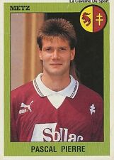 N°161 PASCAL PIERRE FC.METZ VIGNETTE PANINI FOOTBALL 94 STICKER 1994