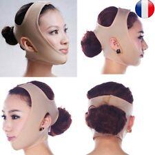 Minceur Svelte Masque Visage Réduire Levage Bandage Ceinture Menton Joue V-Forme