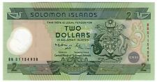 **   SALOMON  Islands     2  dollars  2001   p-23  (Polymere)    UNC   **