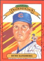 1990 Donruss Learning Series Baseball 11 Ryne Sandberg DK