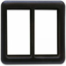 Switch Bezel Frame for 2 Switches CASEY rat truck muscle hot rod