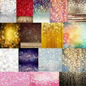Glitter Halos Photography Backdrop Cloth Dreamlike Studio Background Prints