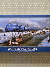 Gibsons 636 Piece Jigsaw Puzzle. Winter Wayfarers. By Barry Freeman. Preloved