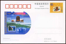 China PRC 2000 JP88 Switzerland Stamp Exhibition Stationery Card Unused #C26279
