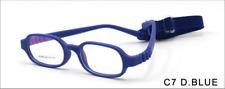 Foldable Glasses Full Rim Frame Eyewear with Detachable Strip for Cute Children