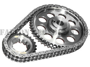 ROLLMASTER Double Roller BILLET Timing IWIS Chain Set Ford FE 352 360 390 428