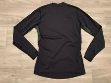 Arc'teryx Men's Performance Shirt Small Black Long-Sleeve Sweater Base Layer Top