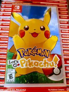 Pokemon Lets Go Pikachu - Nintendo Switch - Brand New