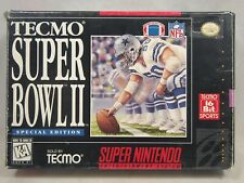Tecmo Super Bowl II Special Edition (Super Nintendo | SNES) Authentic BOX ONLY