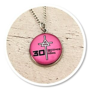*30 seconds to mars* Echelon 3STM round necklace Triad pink