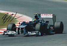 Bruno Senna Hand Signed 12x8 Photo Williams F1 6.