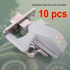 10 Pack Sensor de luz LED del gabinete bisagra para Armario Alacena Armario de Cocina de casa