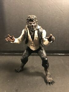 "2009 Mezco The Wolfman 7"" Scale Figure Universal Studios"