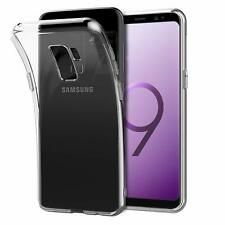 For Samsung Galaxy S9 Case Clear Silicone Slim Gel Cover & Stylus Pen