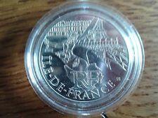 france 10 euros argent 2011 ile-de-france