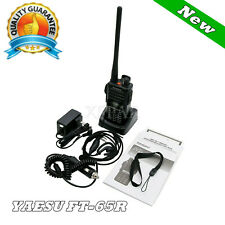 YAESU FT-65R VHF UHF Dual Band Transceiver FM Walkie-talkie Ricetrasmettitore xr