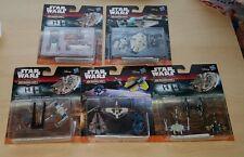 Star Wars The Force despierta Micro Machines 5 juegos de 3 barcos Sellado lucharemos Etc