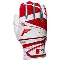 Franklin Sports MLB Freeflex Pro Batting Gloves - White/Red