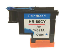 HP 80 Cyan Printhead & Cleaner C4821A HP Designjet Printers 1050c Plus 1055cm