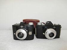 lot 2 appareils photos Agfa click & clack/pour collection/déclenche