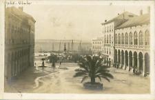 Croatie, Split, Vue de la côte, ca.1910, vintage silver print Vintage silver pri