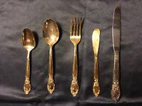 Oneida LTD Silversmiths set of 5 pieces Place Setting Ballad/Country Lane