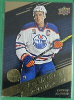 1016-17 Upper Deck, Tim Hortons #SM-1 Connor McDavid, Stat MAKERS