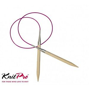 KnitPro Birch Basix 60cm Fixed Circular Knitting Needles