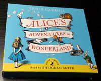 Alice's Adventures in Wonderland Lewis Carroll (CD Audio Book) Sheridan Smith